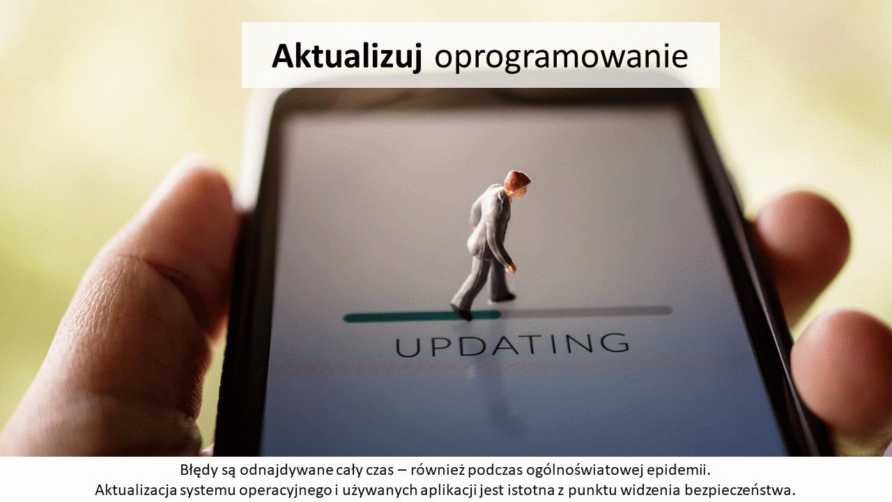 Aktualizuj oprogramowanie